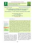 Effect of different types of mulching materials on growth and yield of chilli (Capsicum annum L. Cv. Arka Harita)