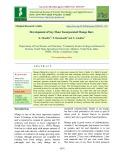 Development of soy flour incorporated mango bars