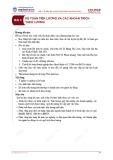 Bài giảng Kế toán tài chính - Bài 3: Kế toán tiền lương và các khoản trích theo lương