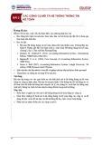 Bài giảng Hệ thống thông tin kế toán - Bài 2: Các công cụ mô tả hệ thống thông tin kế toán
