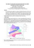 Tác động của biến đổi khí hậu đến sản xuất lúa nước ở huyện Phú Thiện, tỉnh Gia Lai