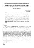 Hướng dẫn tự học, tự nghiên cứu giáo trình môn Kinh tế chính trị Mác - Lênin ở các trường đại học hiện nay