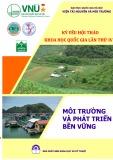 Kỷ yếu Hội thảo khoa học Quốc gia lần thứ IV: Môi trường và phát triển bền vững