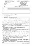 Đề thi học kì 2 môn Tiếng Việt lớp 5 năm 2019-2020 có đáp án - Trường Tiểu học Lê Quý Đôn, Chư Sê