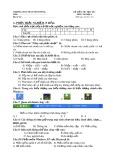 Đề thi học kì 1 môn Tin học lớp 6 năm 2020-2021 - Trường THCS Phan Đình Phùng