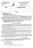 Đề thi học kì 2 môn Tiếng Việt lớp 4 năm 2019-2020 có đáp án - Trường Tiểu học Trần Thới 2