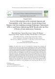 Mức độ vi khuẩn trong đờm, tính nhạy cảm của chủng vi khuẩn lao phân lập từ bệnh nhân lao phổi AFB (+) không đa kháng thuốc và một số yếu tố ảnh hưởng đến kết quả MGIT sau 8 tuần đầu điều trị