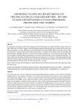 Ảnh hưởng của mức độ liên kết kháng cắt đến ứng xử uốn của dầm liên hợp thép – bê tông sử dụng liên kết kháng cắt dạng perfobond: Phương pháp thực nghiệm
