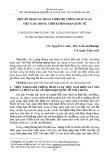 Một số nội dung hoàn thiện hệ thống pháp luật Việt Nam trong thời kì hội nhập quốc tế
