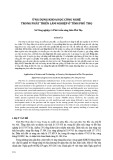 Ứng dụng khoa học công nghệ trong phát triển lâm nghiệp ở tỉnh Phú Thọ