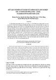 Kết quả nghiên cứu kinh tế chính sách lâm nghiệp sau 35 năm đổi mới (1986-2020) và định hướng đến năm 2030