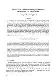 Chuyển giao tiến bộ kỹ thuật lâm nghiệp trong công tác khuyến lâm