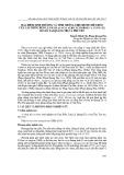 Đặc điểm sinh trưởng và tính chống chịu bệnh chết héo của các dòng keo lá tràm Acacia auriculiformis A. cunn. Ex benth tại Quảng Trị và Phú Yên