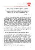 """""""Học tập và làm theo tư tưởng, đạo đức, phong cách Hồ Chí Minh"""", thực tiễn triển khai tại đoàn thanh niên cộng sản Hồ Chí Minh trường Đại học Nông Lâm, Đại học Huế"""