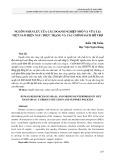 Nguồn nhân lực của các doanh nghiệp nhỏ và vừa tại Việt Nam hiện nay: Thực trạng và các chính sách hỗ trợ