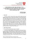 Một số kết quả thực hiện Chỉ thị 05-CT/TW của Bộ Chính trị về đẩy mạnh học tập và làm theo tư tưởng, đạo đức, phong cách Hồ Chí Minh ở Đảng bộ Đại học Huế