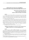 The readiness of Vietnam's enterprises for participation in the fourth industrisal revolution