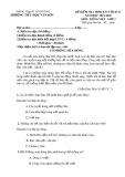 Đề thi học kì 2 môn Tiếng Việt lớp 2 năm 2019-2020 - Trường Tiểu học Văn Sơn