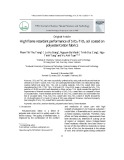 High flame retardant performance of SiO2-TiO2 sol coated on polyester/cotton fabrics