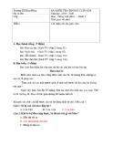 Đề thi học kì 2 môn Tiếng Việt lớp 1 năm 2019-2020 có đáp án - Trường Tiểu học Kim Đồng