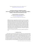 Investigation of aerodynamics and longitudinal stability of unmanned aerial vehicle with elevator deflection