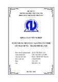 Khóa luận tốt nghiệp Quản trị nhân lực: Tuyển dụng nhân lực tại Công ty TNHH gỗ Trần Hưng - Thành phố Hà Nội