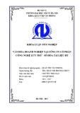 Luận văn Thạc sĩ Quản trị văn phòng: Văn hóa doanh nghiệp tại Công ty Cổ phần Công nghệ Lưu trữ - Số hóa tài liệu HT