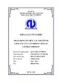 Luận văn Thạc sĩ Quản trị văn phòng: Hoạt động tổ chức các chuyến đi công tác của Văn phòng Công ty Cổ phần Ominext