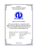 Luận văn Thạc sĩ Quản trị văn phòng: Kỹ năng giao tiếp của cán bộ công chức trong công tác tiếp dân tại bộ phận một cửa, một cửa liên thông thuộc UBND huyện Thanh Oai thành phố Hà Nội