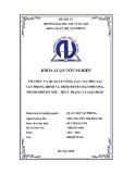 Luận văn Thạc sĩ Quản trị văn phòng: Tổ chức và quản lý công tác Văn thư tại Văn phòng HĐND và UBND huyện Đan Phượng, thành phố Hà Nội – Thực trạng và giải pháp
