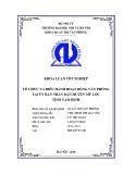 Luận văn Thạc sĩ Quản trị văn phòng: Tổ chức và điều hành hoạt động văn phòng tại ủy ban nhân dân huyện Mỹ Lộc, tỉnh Nam Định