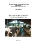 Sinh sản ở bò sữa và phương pháp phòng trị bệnh cho bò sữa