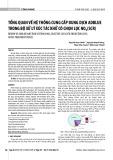 Tổng quan về hệ thống cung cấp dung dịch adblue trong bộ xử lý xúc tác khử có chọn lọc Nox (SCR)