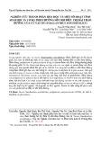 Nghiên cứu thành phần hóa học và một số hoạt tính sinh học in vitro theo hướng hỗ trợ điều trị đái tháo đường của củ yacon (Smallanthus Sonchifolius)