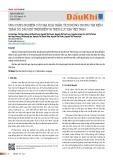 Ứng dụng nghiên cứu địa hóa trầm tích nông trong tìm kiếm thăm dò dầu khí trên biển và thềm lục địa Việt Nam
