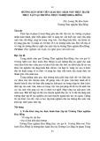 Hướng dẫn sinh viên giáo dục mầm non thực hành thực tập tại trường Thực nghiệm Hoa Hồng