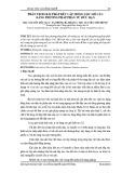 Phân tích giải pháp kết cấu móng cọc mố cầu bằng phương pháp phần tử hữu hạn