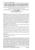 Nghiên cứu điều chỉnh các tham số trong mô hình cháy của động cơ diesel 2.5 TCI-A bằng phần mềm AVL-Boost theo diễn biến áp suất thực trong xi lanh