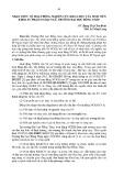 Nhận thức về hoạt động nghiên cứu khoa học của sinh viên khoa Sư phạm Ngoại ngữ, trường Đại học Đồng Tháp