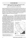 Áp dụng lý thuyết tập mờ xây dựng chỉ số chất lượng nước cho lưu vực sông Nhuệ - Đáy