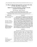 Tác động của đánh giá chương trình đào tạo theo bộ tiêu chuẩn AUN-QA: Quan điểm của giảng viên