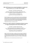 Điều chế thanh nano gadolini hydroxit và khảo sát hoạt tính xúc tác của hệ UV/H2O2/Gd(OH)3