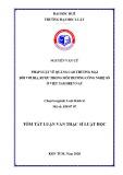 Tóm tắt Luận văn Thạc sĩ Luật học: Pháp luật về Quảng cáo thương mại đối với bia, rượu trong môi trường công nghệ số ở Việt Nam hiện nay