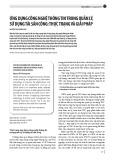 Ứng dụng công nghệ thông tin trong quản lý, sử dụng tài sản công: Thực trạng và giải pháp