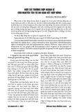 Một số trường hợp ngoại lệ của nguyên tắc tự do giao kết hợp đồng