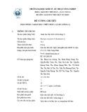 Đề cương chi tiết học phần Giáo dục thể chất 4 (Cầu lông 2)