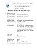 Đề cương chi tiết học phần Giáo dục thể chất 3 (Cầu lông 1)