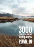 3000 câu đàm thoại tiếng Trung - Phần 10