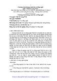 Chương trình khung trình độ cao đẳng nghề Thiết kế trang Web - Trường CĐN KTCN Dung Quất