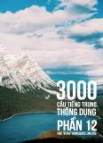 3000 câu đàm thoại tiếng Trung - Phần 12